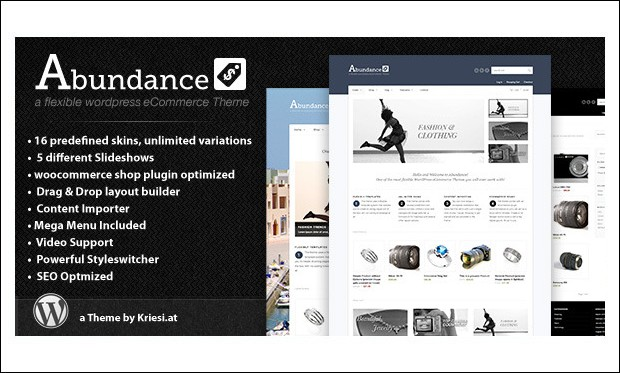 Abundance - Retail WordPress Themes