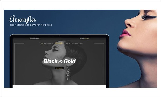 Amaryllis - Retail WordPress Themes
