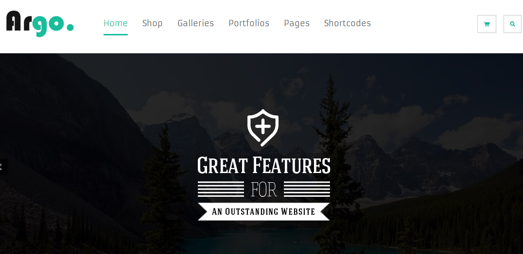 Argo - Elegant Responsive WordPress Theme