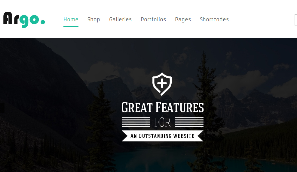 Argo - Responsive Retail WordPress Theme