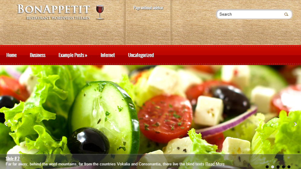 BonAppetit - Restaurant WordPress Themes