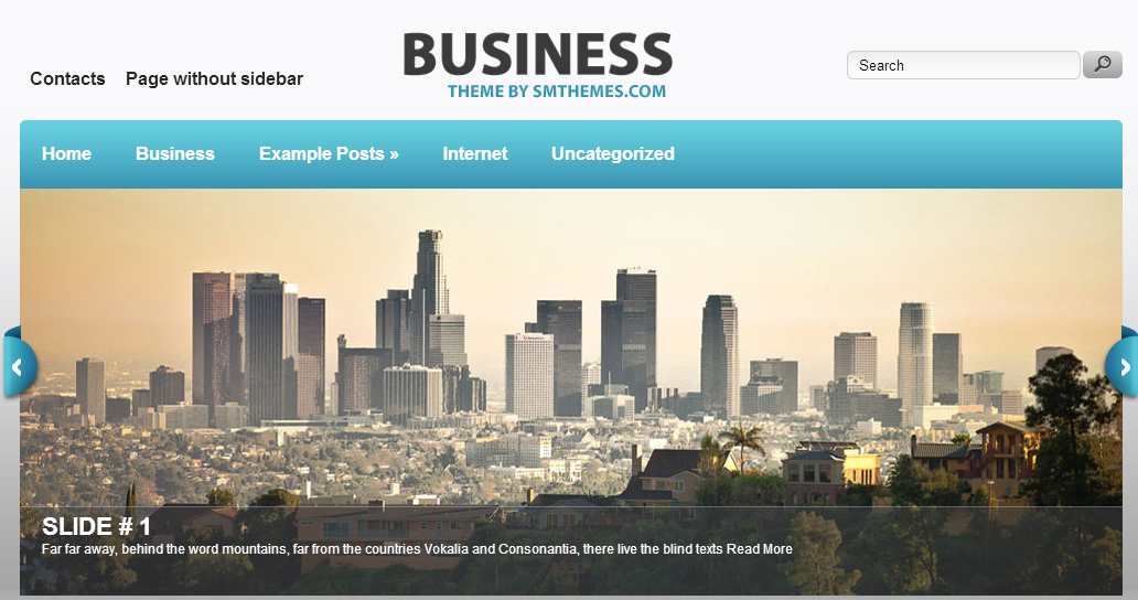 Business - Corporate Responsive WordPress Themes