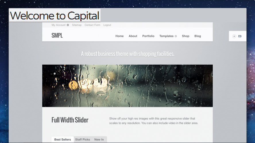 Capital - Corporate Responsive WordPress Theme