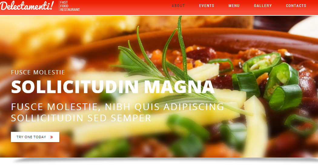 Fast Food Restaurant - Restaurant WordPress Themes