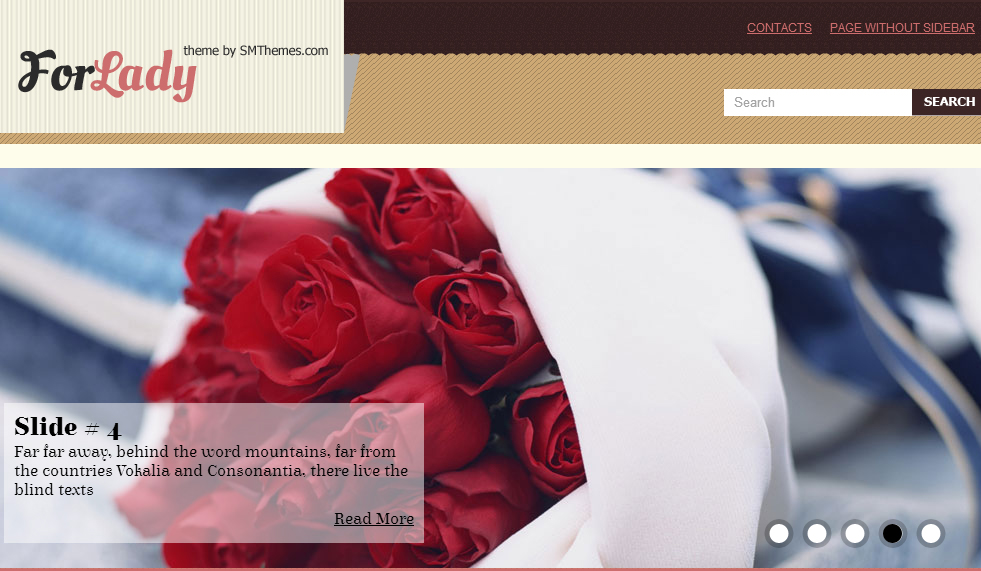 ForLady - Fashion WordPress Themes