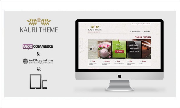 Kauri - Retail WordPress Themes
