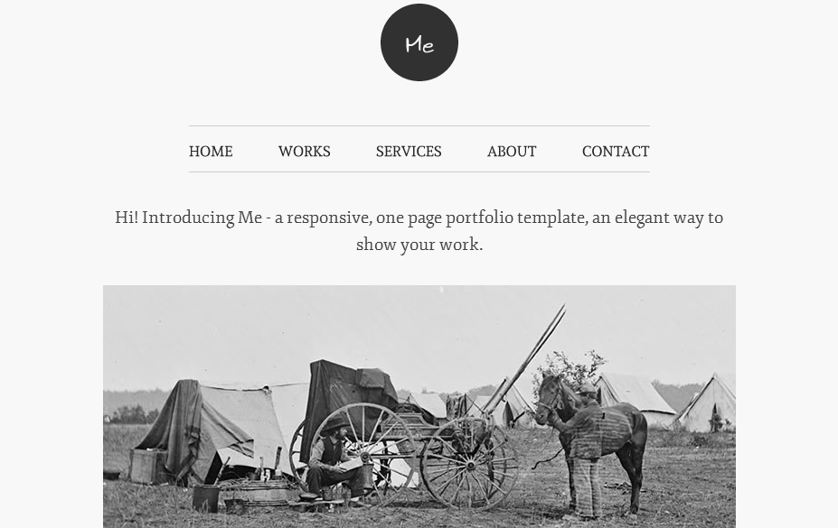 Me - Authors WordPress Theme
