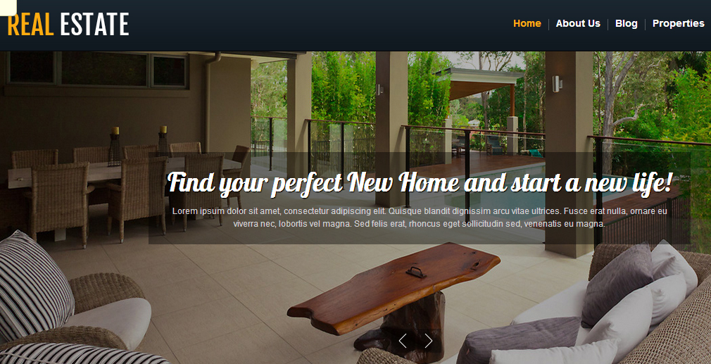 Real Estate - Elegant Responsive WordPress Theme