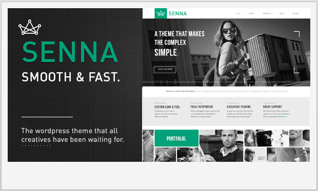 Senna -Responsive Grid WordPress Theme