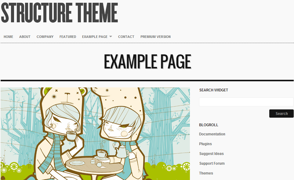 Structure - Authors WordPress Theme