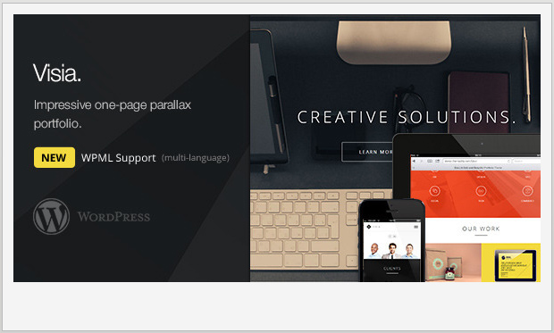 Visia -Responsive Grid WordPress Theme