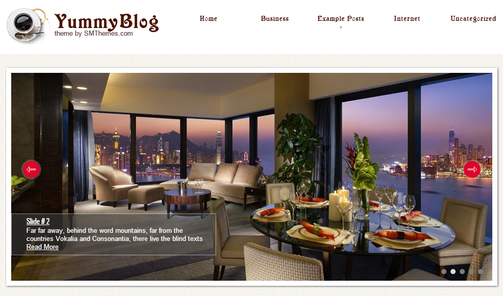 YummyBlog - Restaurant WordPress Themes