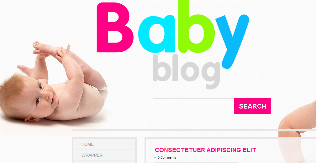 NewBorn Theme 24997 from TemplateMonster