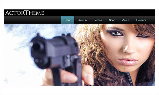 Actor - WordPress Themes for Actors