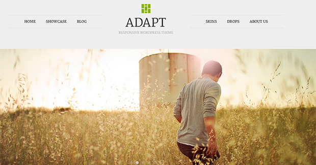 Adapt  - WordPress Responsive Animated Theme