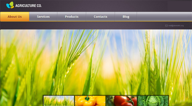 Agriculture Co Responsive Agriculture WordPress Theme