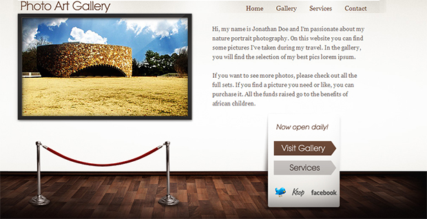 Art Gallery - WordPress Responsive Gallery Theme