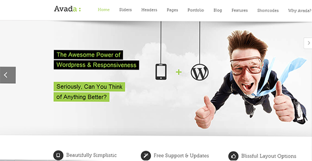 Avada -  WordPress Responsive Theme