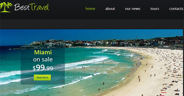 Best Travel - WordPress Responsive Travel Theme