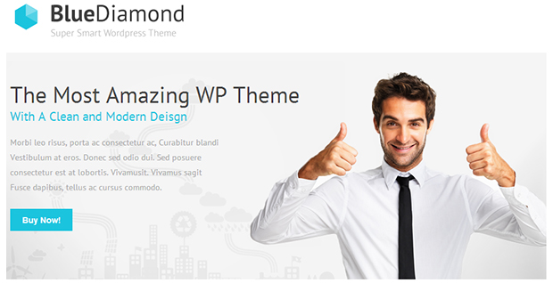 Blue Diamond - WordPress Responsive Theme
