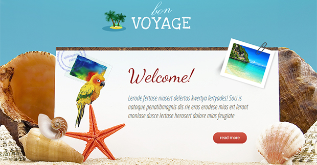 BonVoyage  - WordPress Responsive Travel Theme