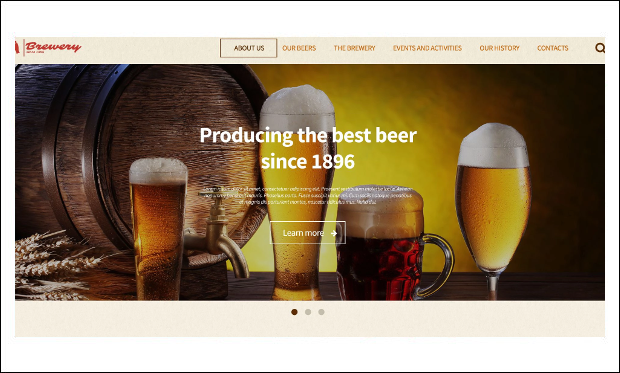 Brewery - Beautiful Bar WordPress Themes