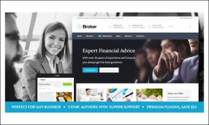 Broker - WordPress Insurance Agency Themes
