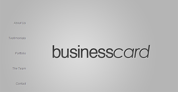 Business Card Insurance Agency Theme