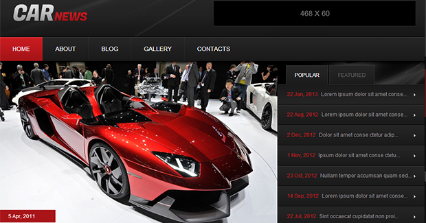 Car News - WordPress Responsive Automotive & Automobile Theme