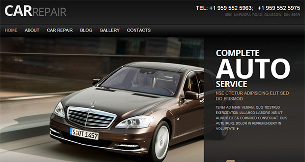 Car Repair - WordPress Responsive Automotive & Automobile Theme