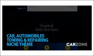 Car Zone - WordPress Automotive and Automobile Themes