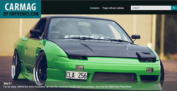 Carmag - WordPress Responsive Automotive & Automobile Theme