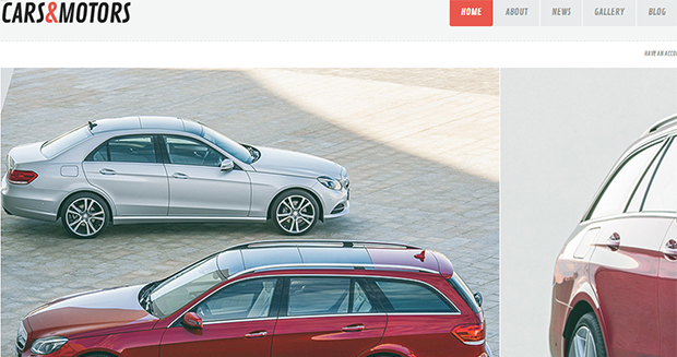 Cars & Motors - WordPress Responsive Automotive & Automobile Theme