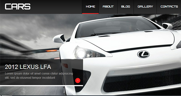 Cars - WordPress Responsive Automotive & Automobile Theme
