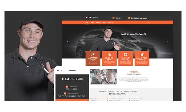 Cars and Bikes - WordPress Automotive and Automobile Themes