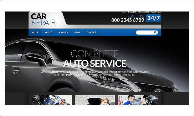 cars - WordPress Automotive and Automobile Themes