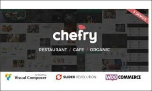 Chefry - Cafeteria WordPress Responsive Themes