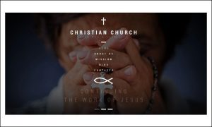 Christian Church - WordPress themes for Church Website