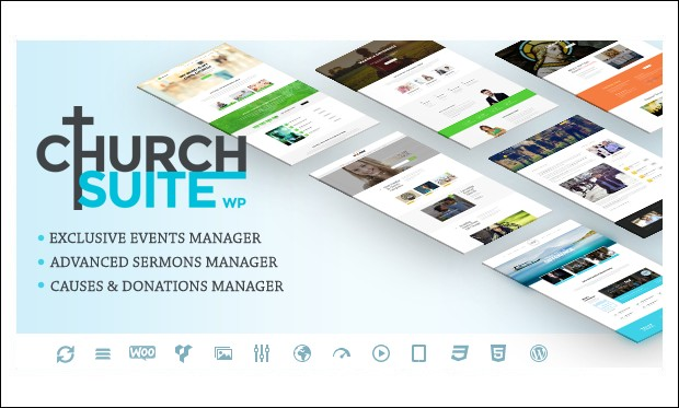 Church Suite - WordPress themes for Church Website