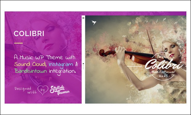 Colibri - Band WordPress Themes