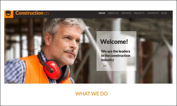 Construction Co Construction Business - WordPress Theme for Construction Company- WordPress Theme for Construction Company