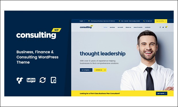 Consulting - WordPress Insurance Agency Themes