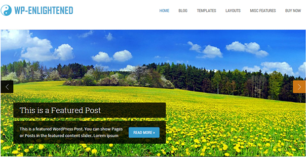 Enlightened - Responsive Agriculture Theme