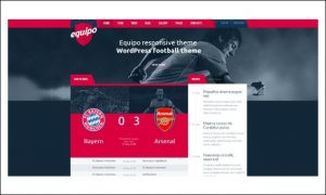 Equipo - Basketball WordPress Responsive Themes