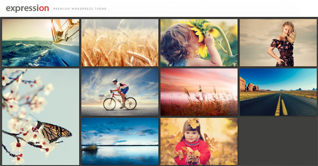 Expression - Responsive Animated Theme