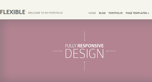 Flexible - WordPress Responsive Theme