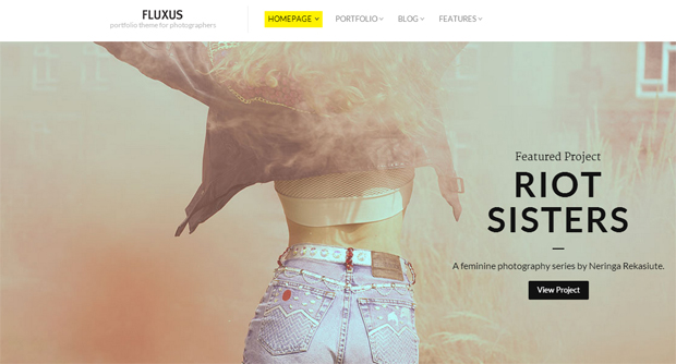 Fluxus - Responsive Animated Theme