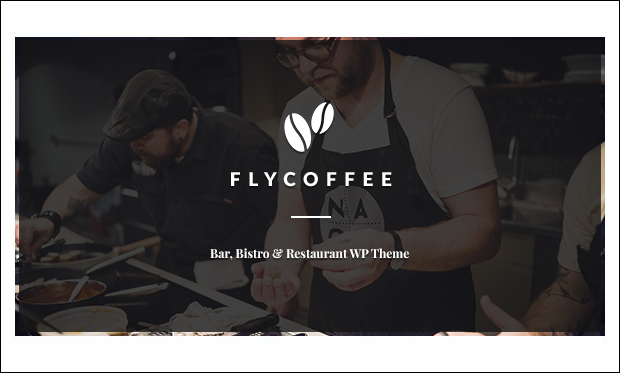 FlyCoffee - Cafeteria WordPress Responsive Themes