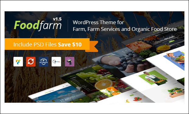 FoodFarm - WordPress Responsive Agriculture Themes