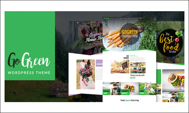 GoGreen - WordPress Responsive Agriculture Themes